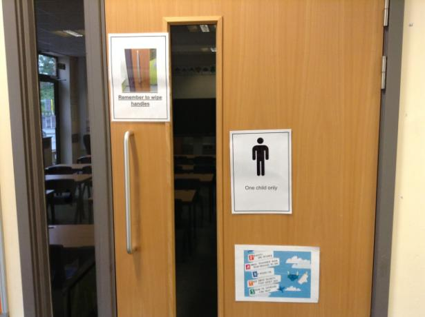 Access to class toilet